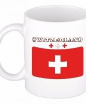 Koffiemok vlag zwitserland 300 ml