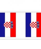 Kroatie vlaggenlijn deluxe