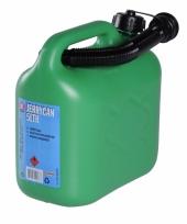 Kunstof benzine jerrycan 5 liter
