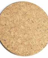 Kurk pannen onderzetter dik 20 cm