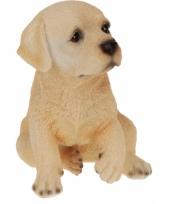 Labrador hond beeldje 17 cm
