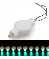 Lampion lampje led groen