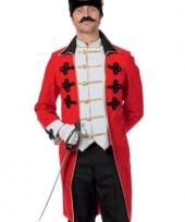 Lange garde soldaat jas rood