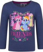 Lange mouwen shirt navy my little pony