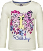 Lange mouwen shirt wit my little pony