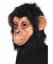 Latex chimpansee maskers