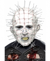 Latex pinhead masker voor volwassenen