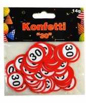 Leeftijd confetti 30 jaar 14 gram