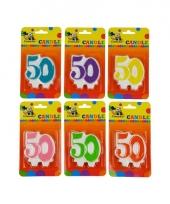 Leeftijd kaars 50 jaar