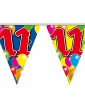 Leeftijd vlaggenlijnen 11 jaar