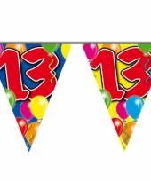 Leeftijd vlaggenlijnen 13 jaar