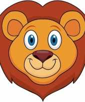 Leeuwen maskers knutselen pakket