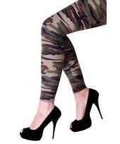 Leger legging voor dames
