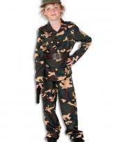 Leger outfit voor kinderen