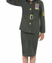 Leger uniform voor meisjes