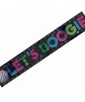 Lets boogie folie banner 7 meter