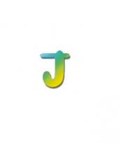 Letterslinger letter j