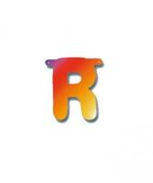 Letterslinger letter r