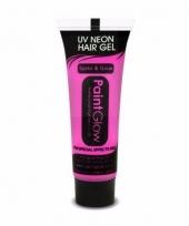Lichtgevende haargel neon roze