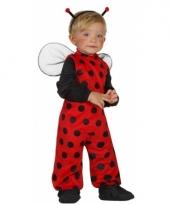 Lieveheersbeest pakje voor kleine kinderen