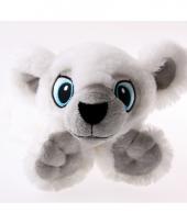 Liggende ijsberen knuffel
