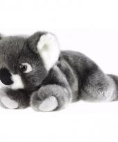 Liggende pluche koala knuffel 23 cm