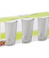 Limonade glazen 220 ml 3 stuks 10087204