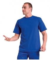 Logostar shirt korte mouw blauw 3xl