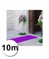 Loper in de kleur paarse 1 bij 10 meter