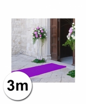 Loper in de kleur paarse 1 bij 3 meter