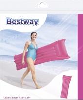Luchtbed in roze kleur 183 cm
