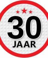 Luxe 30 jaar stickers