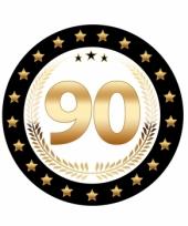Luxe 90 geworden bierviltjes