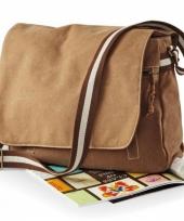 Luxe canvas schoudertassen