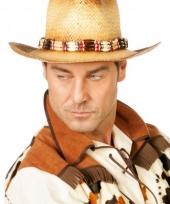 Luxe cowboy hoed voor volwassen