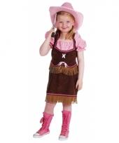 Luxe cowgirl carnavalskleding kind