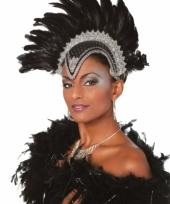 Luxe hoofdtooi zwart voor dames
