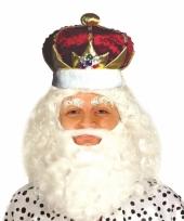Luxe koning kroon voor volwassenen
