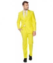 Luxe kostuum voor heren geel