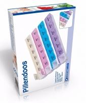 Luxe medicijnen doosje 7 daags met 28 vakjes