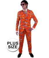 Luxe nederland kostuum grote maat voor heren