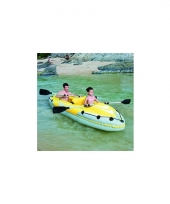 Luxe opblaasbare kayak 2 personen