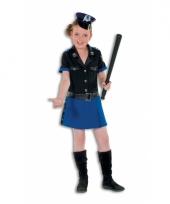 Luxe politie jurk voor meisjes