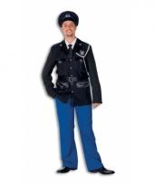 Luxe politie outfit voor heren