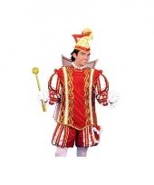 Luxe prins carnaval pak voor heren