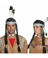 Luxe pruik native indian