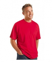 Maat 4xl heren t-shirts rood