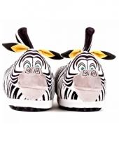 Madagascar zebra marty pantoffels voor kids