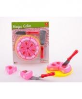 Magisch speelgoed taart roze
