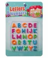 Magnetische letters gekleurd 10099404